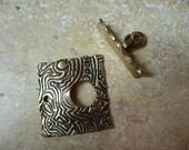 Textured Bronze Toggle