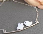 Silver Love Birds,Sterling Silver,Silver Branch,Silver Bracelet,Bird,Family,Bride,Wedding. Handmade jewelry by valleygirldesigns on Etsy.