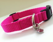 Extra Small Simply Hot Pink Dog Collar