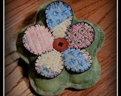 Primitive Blossom Ornies ~~ Cutter Quilt ~~ Whimsy ~~ Primitive Home Decor ~~ Primitive Summer~~ FAAP ~~ OFG Team