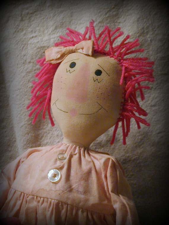 Primitive Rag Doll -- Pepper Anne