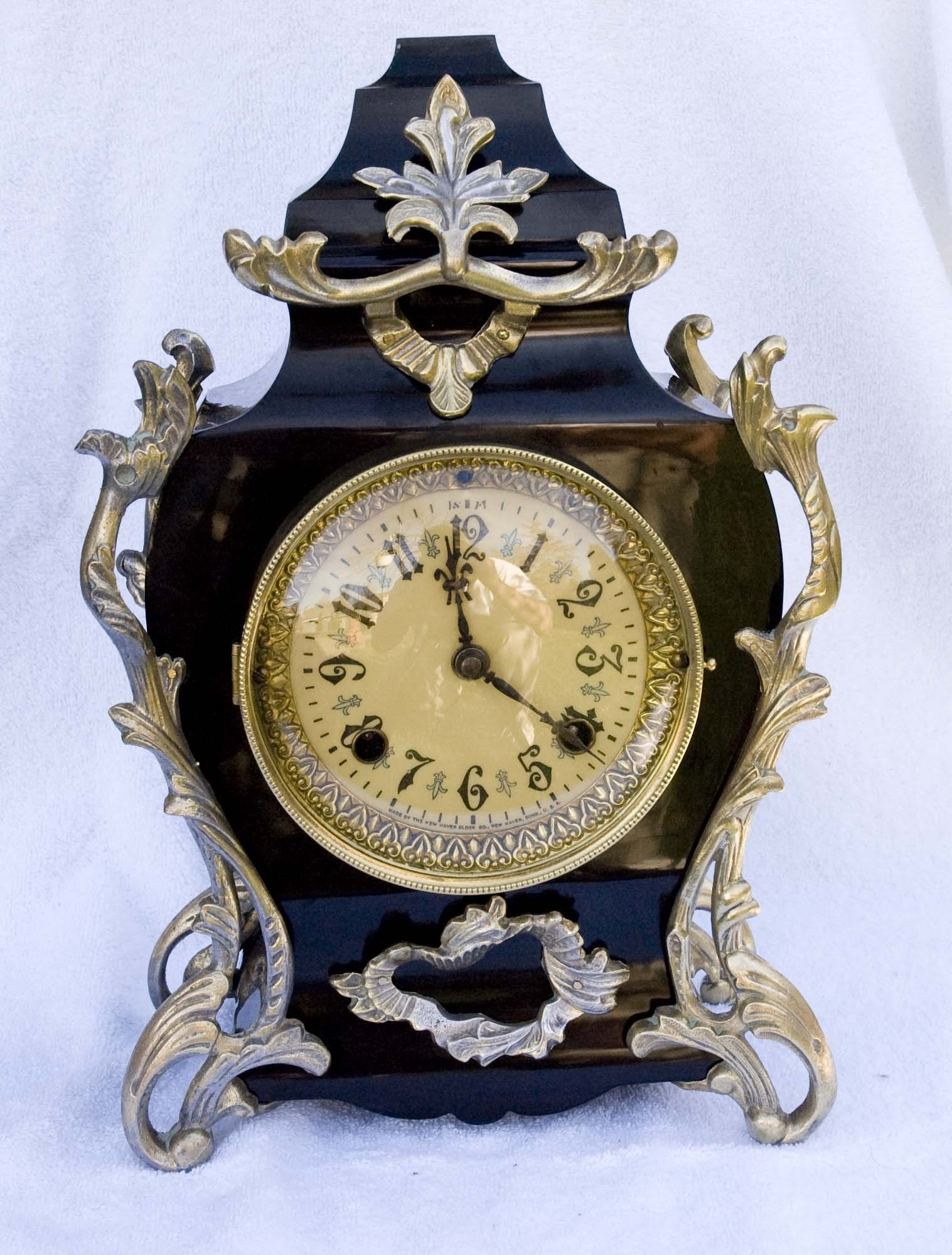 1894 New Haven Mantle Clock By Bclockman On Etsy