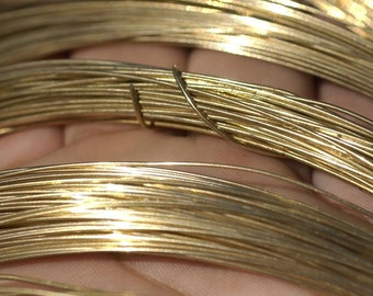 Bronze Wire - 24 Gauge - 20 Feet - Lovely for Jewelry Design