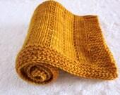 Madelinetosh Merino Newborn Handknit Blanket