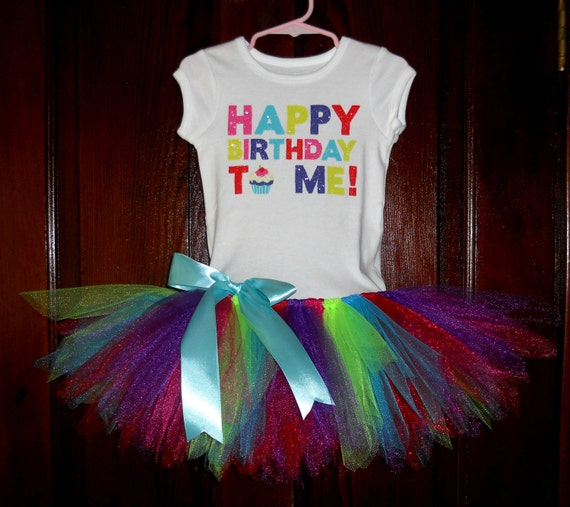 Birthday Tutu Dress Size 3T