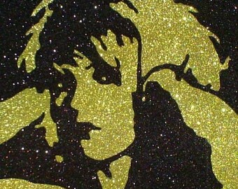 Debbie Harry of Blondie Inspired Glitter Pop Art ~CLEARANCE~