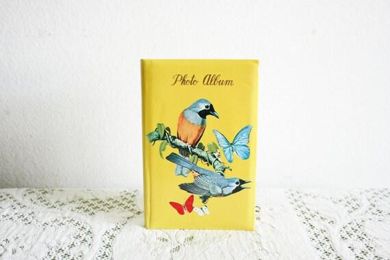 Vintage Bird Photo Album