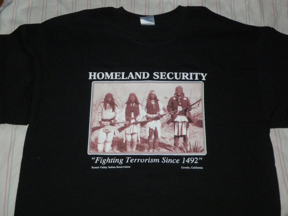 The original homeland security t shirt by glassandstone707 on etsy