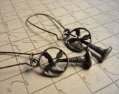 RESERVED FOR CONNIE - Summer Fan Earrings - Chill out