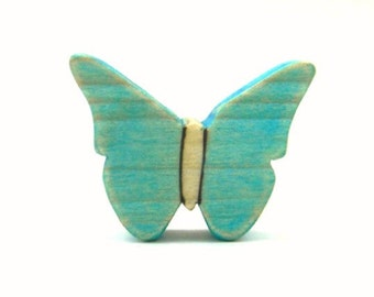 waldorf butterfly toy, wooden toy butterfly, wood insect toys, butterfly wood toy