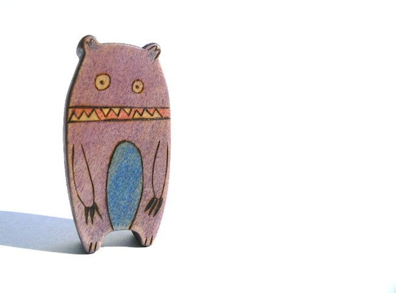 monster wooden toy , monster waldorf toy, wooden waldorf toys, cute monster figurine, imaginative toys