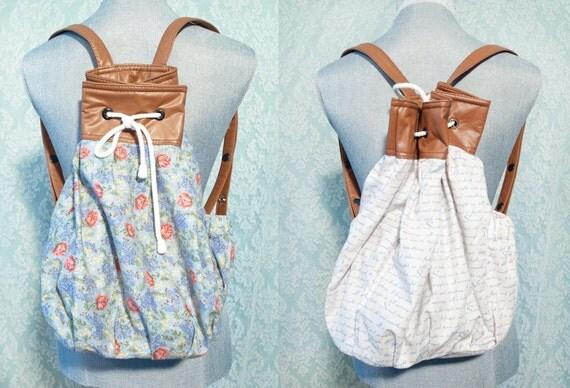 SALE Peter Pan Reversible Backpack