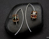 Crystal Copper Swarovski Earrings