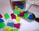 Silly Gummy Bear Green Apple Soaps