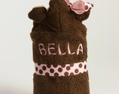Personalize Your Hooded Towel with Embroidery Monogram