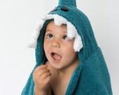 Shark Hooded Towel