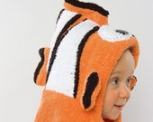 Clownfish Hooded Towel