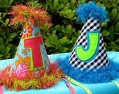 Birthday Party Hat Pattern - No Sew Option