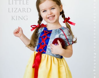 Princess Dress Pattern, Peasant Dress Pattern, Girls Dress Sewing Pattern, Girls Peasant Dress Pattern, Cinderella, Belle, Snow White,