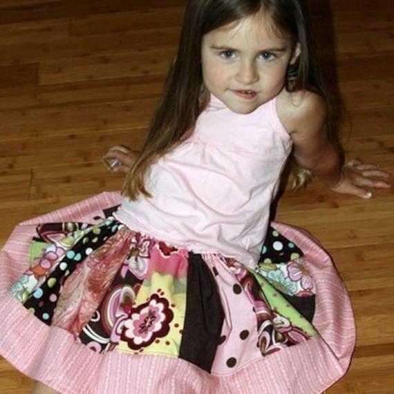 Twirly Girly Skirt - SEWING PATTERN
