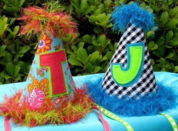Birthday Party Hat Pattern - No Sew Option