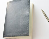 NO BLANK PAGE Leather Journal Notebook 6 - Oopsies Sale