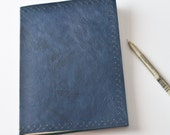 HOLIDAY SALE Blank Leather Journal Notebook 11 - Oopsies Sale