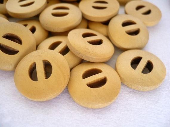 Cute Little Vintage Wooden Buttons, Cute Little Vintage Wood Button, WB10029 (6 in 1 set)