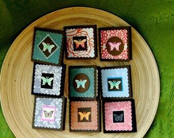 Short-n-Sweet  Gift Enclosures - Butterflies