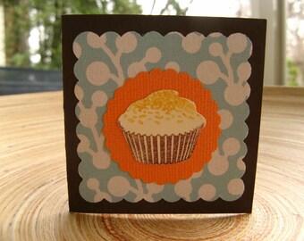 Set of 6 Short-n-Sweet Gift Enclosures - Cupcakes