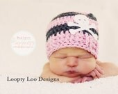 Newborn Photo Prop, Crochet Hat, Baby, Skull Hat, Baby Boy, Baby Girl, Skull Beanie, - Sizes NEWBORN TO 12 MONTHS - more color options