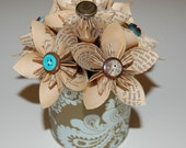 Building a Mystery Paper Flower Bouquet - Donation of Proceeds goes to Womens Crisis Services