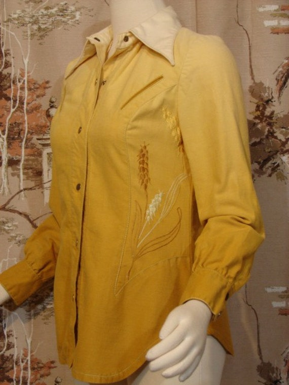 Blouse - Western Style - Circa 1970's