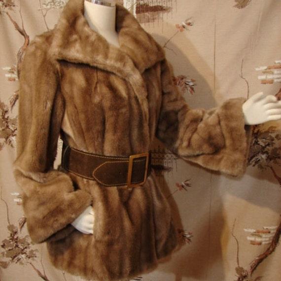 FABULOUS Fake Fur Grandella II / Sportowne Jacket - small to medium
