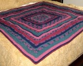 Jewels of India Crochet Blanket