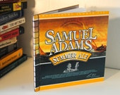 Sam Adams Summer Ale Upcycled Recycled Beer Box Notebook
