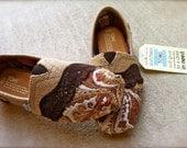 Custom Fabric upholstered Toms
