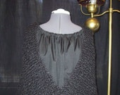 New Shawl - Costume - Victorian Wrap - Civil War Accessory - Hand Knitted