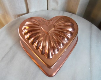 Copper Heart Food/Jello Mold