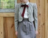 Monday Morning / Vintage Dress and Jacket Set ..........FREE SHIPPING