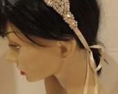 Bridal Rhinestone Headband, ETERNITY, Bridal Headband, Rhinestone Headband, Bridal Headpiece