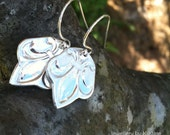 Le Fluer - Fine Silver Dangle Earrings