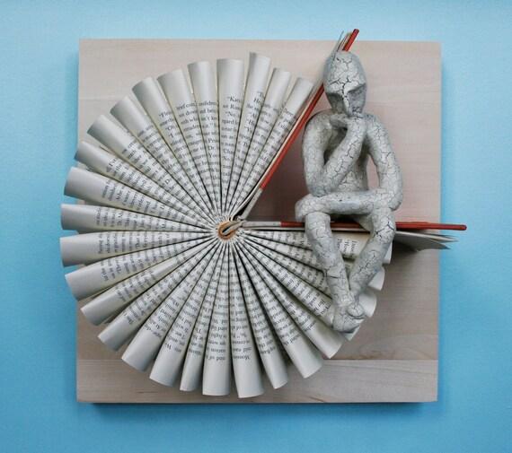 Thinker on 3:05 (Original Sculpture)