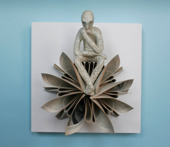 Thinker on Star (Original Sculpture)