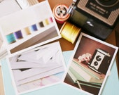 camera, notebooks, frames, reel colour - inspiration mini-prints