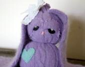 bunny stuffed animal plush handmade