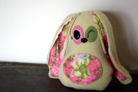 handmade rabbit, bunny softy plush