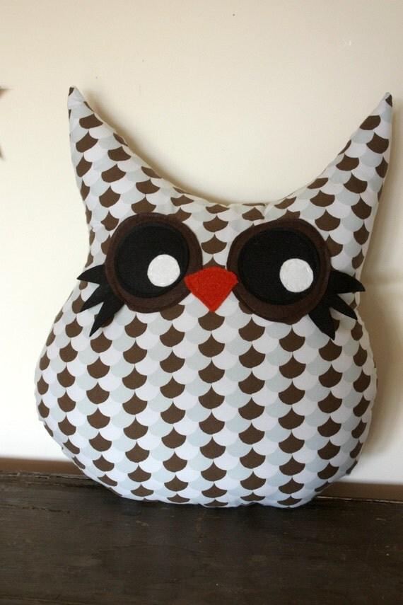 owl pillow plush toy, stuffed animal, last one
