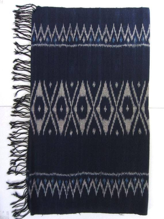 Mudmee or Ikat  Shawl / Rug / Table Cloth