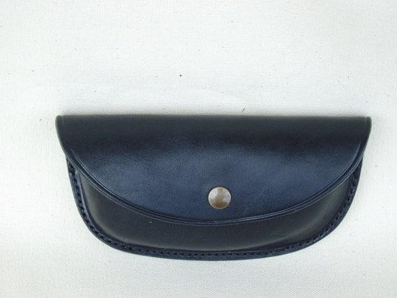 Handmade Leather Glasses Case for Belt